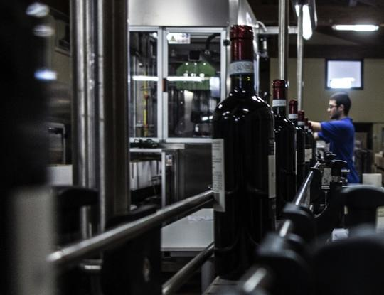 State of the art vinification and bottling 2